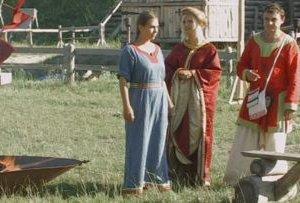 Под Киевом возрождают древнерусские игры и традиции Х века (ВИДЕО)