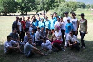 Крымскотатарская молодежь проводит лето в Байдарской долине