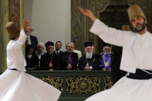 По случаю начала Рамадана Патриарх Варфоломей посетил обитель дервишей