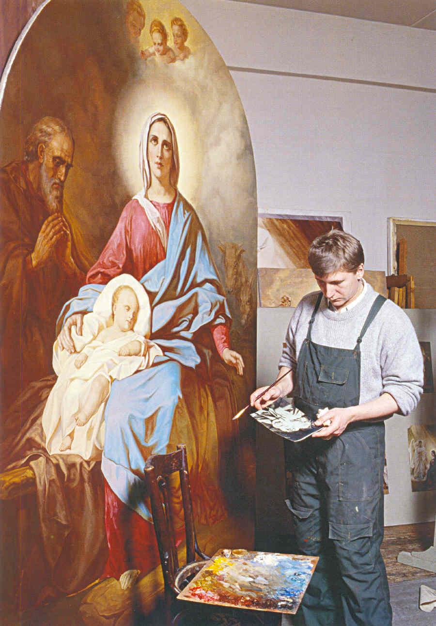 Фантазии архимандрита Рафаила Карелина о языке православной иконы