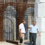 На стройплощадку самого главного собора УПЦ завезли 22 тыс. штук кирпича для кладки стен здания