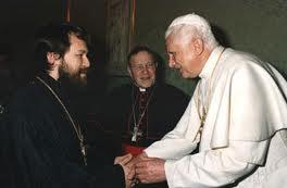 Вопрос о благодатности таинств у католиков не имеет общепринятого ответа, считает митрополит Иларион (Алфеев)