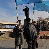 В Крыму столкнулись сторонники и противники меджлиса