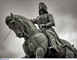 Свята Жанна д'Арк: штрих до теології визволення