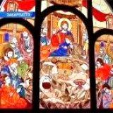 У храмі Мукачева встановили гігантську вітражну ікону