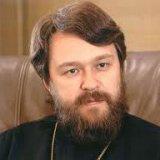 Глава ВЗЦЗ РПЦ митрополит Іларіон (Алфеєв) вважає Патріарха Кирила і прем'єра Путіна головними «збирачами воєдино земель Святої Русі»