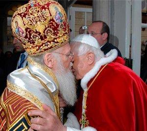 Вселенский патриарх— восточный папа?