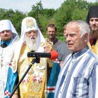 Патріарх Філарет відвідав Черкащину, де освятив хрести новозбудованої церкви святого кошового отамана Петра Калнишевського