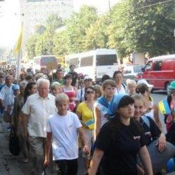 30 тисяч чоловік взяли участь у Всеукраїнській патріаршій прощі, котру очолив глава УГКЦ