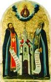 Культ преподобних отців печерських в посвятах храмів Київської митрополії