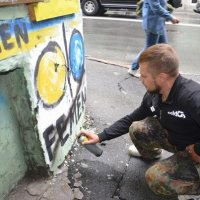 """Офис FEMEN подвергся атаке """"Верного казачества"""""""