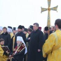 Президент України привітав частину християн з Різдвом і взяв участь у подячному молебні УПЦ