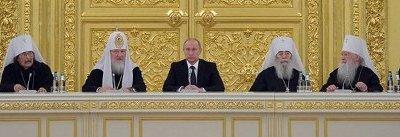 Путин удивился приглашению епископа УПЦ приехать в Украину
