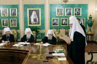Митрополит Володимир попросив Патріарха Кирила очолити міжнародний оргкомітет з відзначення 1025-річчя Хрещення Русі
