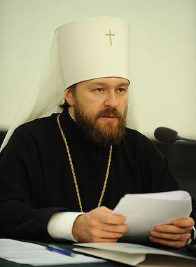 Глава ОВЦС МП митрополит Иларион: «Если Папа будет поддерживать униатство, это к добру не приведет»