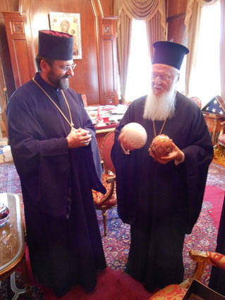 Глава УГКЦ зустрівся з Вселенським Патріархом