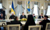 Президент України зустрівся з Єрусалимським Патріархом і релігійними лідерами світу