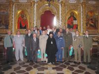 Митрополит Павел провел экскурсию по Киево-Печерской лавре для военных атташе стран НАТО и России