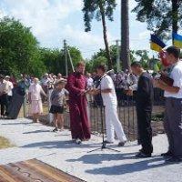 Священики різних конфесій освятили комплекс поховань воїнів армії УНР в Боярці