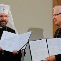 Голови УГКЦ та РКЦ Польщі підписали спільну декларацію і попросили прощення за Волинську трагедію