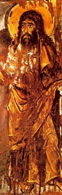 Самая древняя икона пророка Иоанна Крестителя находится в Киеве