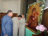 У кафедральному соборі УПЦ КП в Рівному мироточить ікона «Одигітрія Дорогобузька»