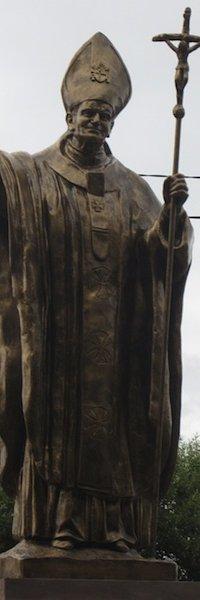 На Тернопільщині відкрили пам'ятник Івану Павлу ІІ