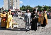 Районна влада Києва взяла участь у святковому молебні УПЦ КП з нагоди 1025-річчя Хрещення Київської Руси