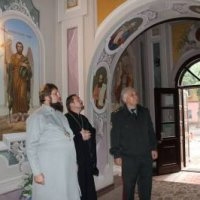 Єпископ УПЦ КП обговорив з головою асоціації генералів-ветеранів Одеси пастирську опіку військових