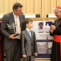 9-річний українець отримав престижну міжнародну премію у Ватикані