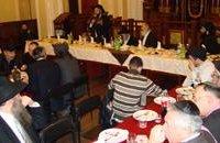 В киевской синагоге Бродского хасиды отпраздновали Новый год