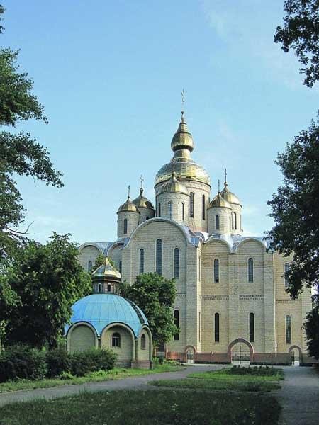 Найбільший храм України ‒ кафедральний собор УПЦ у Черкасах