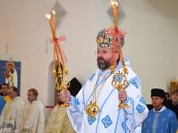 Глава УГКЦ привітав священиків і семінаристів, які прибули на Євромайдан