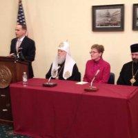 Предстоятелі УПЦ КП та УГКЦ зустрілися з високопосадовцями США і попросили їх допомагати Україні