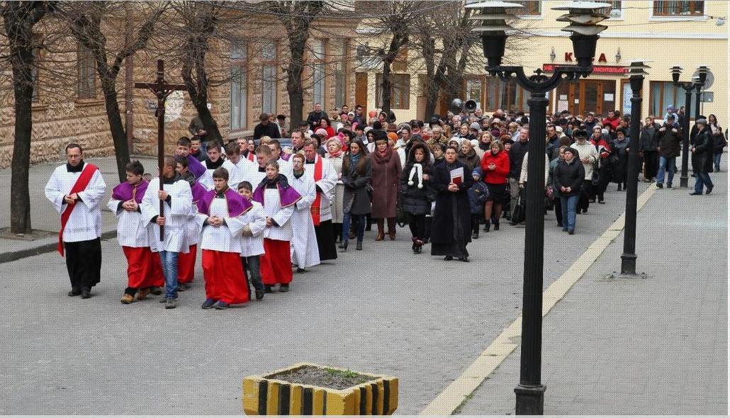 Римо-католики, греко-католики та вірмени провели у Львові спільну екуменічну ходу