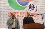 Виступ муфтія українською мовою на міжнародній конференції в Грузії зустріли оплесками