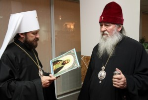 Глава ОВЦС МП митрополит Иларион (Алфеев) не допущен в Украину