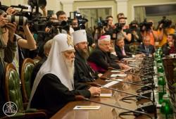 Церковні лідери взяли участь у Першому загальноукраїнському круглому столі національної єдності