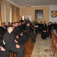 Священик УПЦ (МП) прочитав лекцію про військове капеланство семінаристам УПЦ КП