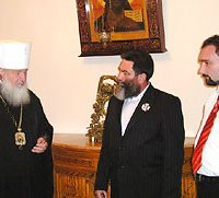 Глава «Одесской республики» встретился с Патриархом Кириллом