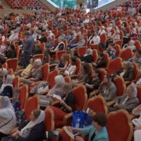 Зал церковных Соборов РПЦ аплодировал Наталье Витренко за осуждение руководства УПЦ и «так называемого президента Порошенко»