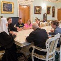 Глава УПЦ КП обговорив з представниками Ватикану та благодійниками роль Церкви у профілактиці та лікуванні ВІЛ-СНІДу
