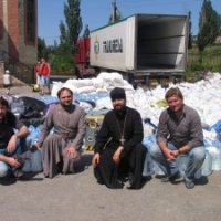 Українські Церкви відправляють десятки тонн гуманітарної допомоги в зону АТО