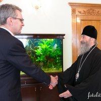 Глава УПЦ зустрівся з послом США в Україні