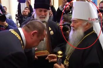 Митрополит УПЦ принял участие в инаугурации главы «Луганской народной республики»