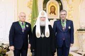 Глава РПЦ наградил орденом «главного пропагандиста России», оценивая его вклад «во благо Церкви и Отечества» выше, чем Президент России