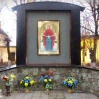 Священики УПЦ КП, РКЦ та УГКЦ освятили меморіал пам'яті загиблих учасників Революції гідності та бойових дій на сході України