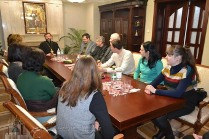 Глава УГКЦ провів ознайомчу зустріч з представниками Департаменту у справах релігій та національностей України