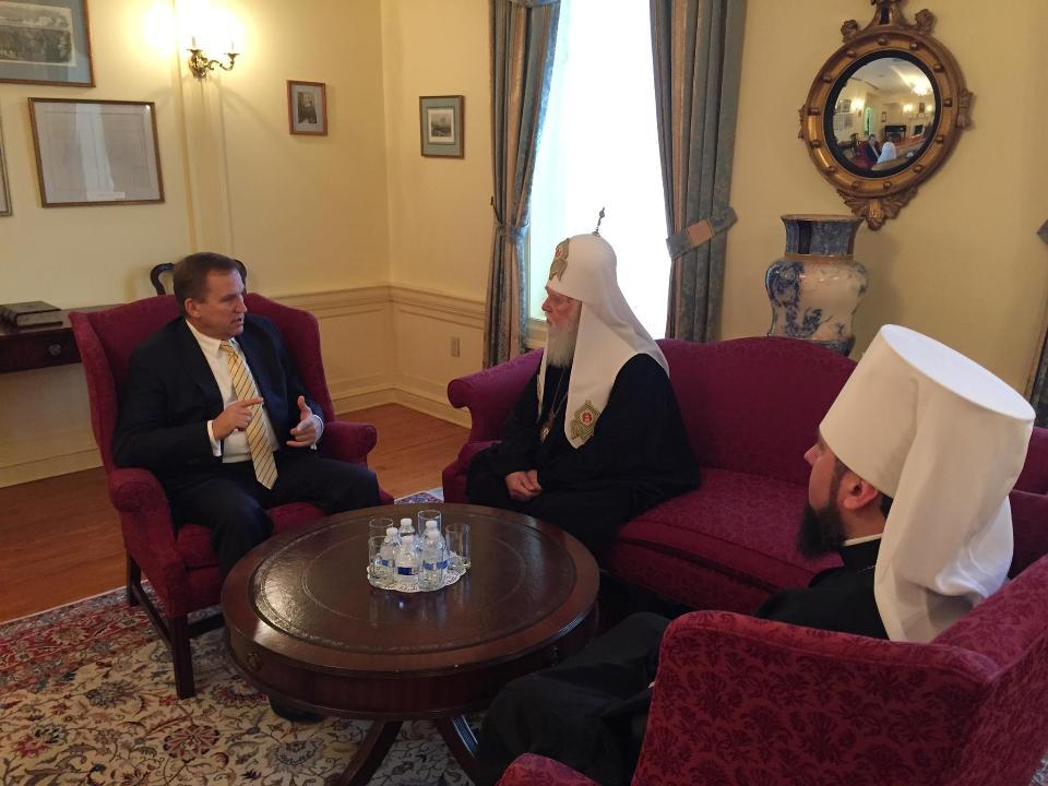 Патріарх Філарет поїхав до США нагадати американцям про обов
