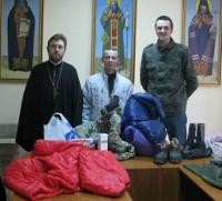 Херсонская епархия УПЦ продолжает помогать украинским военным